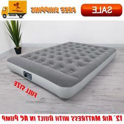 12 air mattress with built in ac