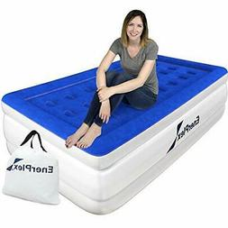 Air Mattress with Built in Pump Raised Luxury Twin Airbed Do