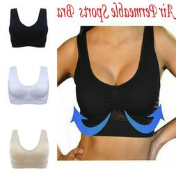 Air Permeable Cooling Summer Seamless Sport Gym Yoga Wireles