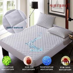 brushed fabric quilt waterproof font b mattress