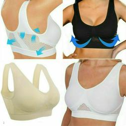 COMFORT AIRE BRA Air Permeable Cooling Summer Sport Yoga Wir
