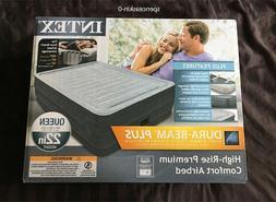 Intex Comfort Plush Elevated Dura-beam Airbed, Bed Height 22