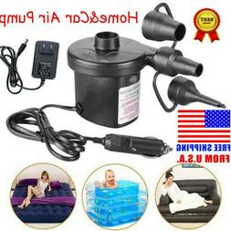 Electric Air Pump For Paddling Pool Fast Inflator Deflator C