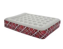 Bestway Full Size Comfort Plaid Airbed/Air Matress Built in