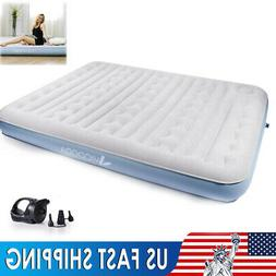 Inflatable Air bed Matress Folding Eletric Air Pump Fit Indo