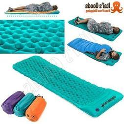 Inflatable Sleeping Outdoor Camping Matress Pad Mat Cushion