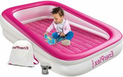 Kids Inflatable Toddler Travel Bed, Portable Air Mattress fo