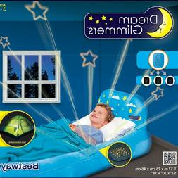 Kids Travel Bed Inflatable Portable Air Mattress Airbed Extr