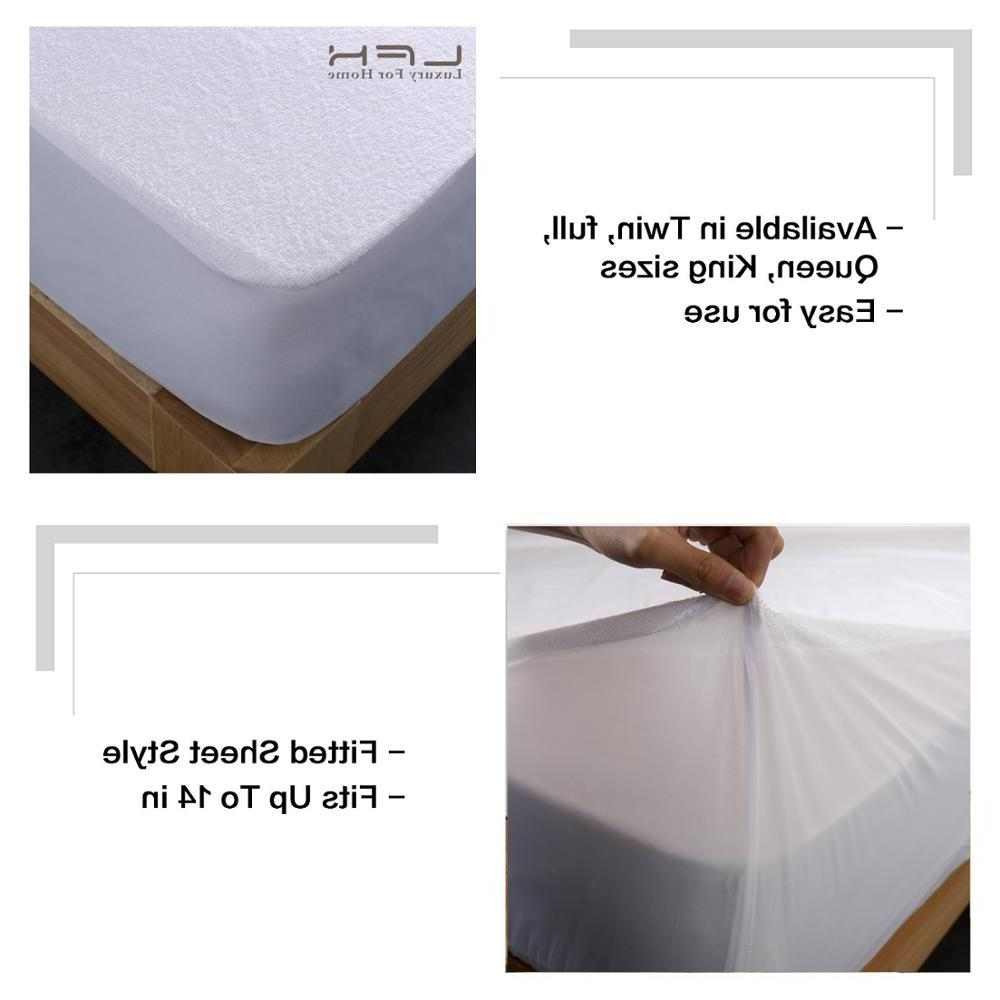 160X200 Cover Protector Proof Dust Mattress Cover For