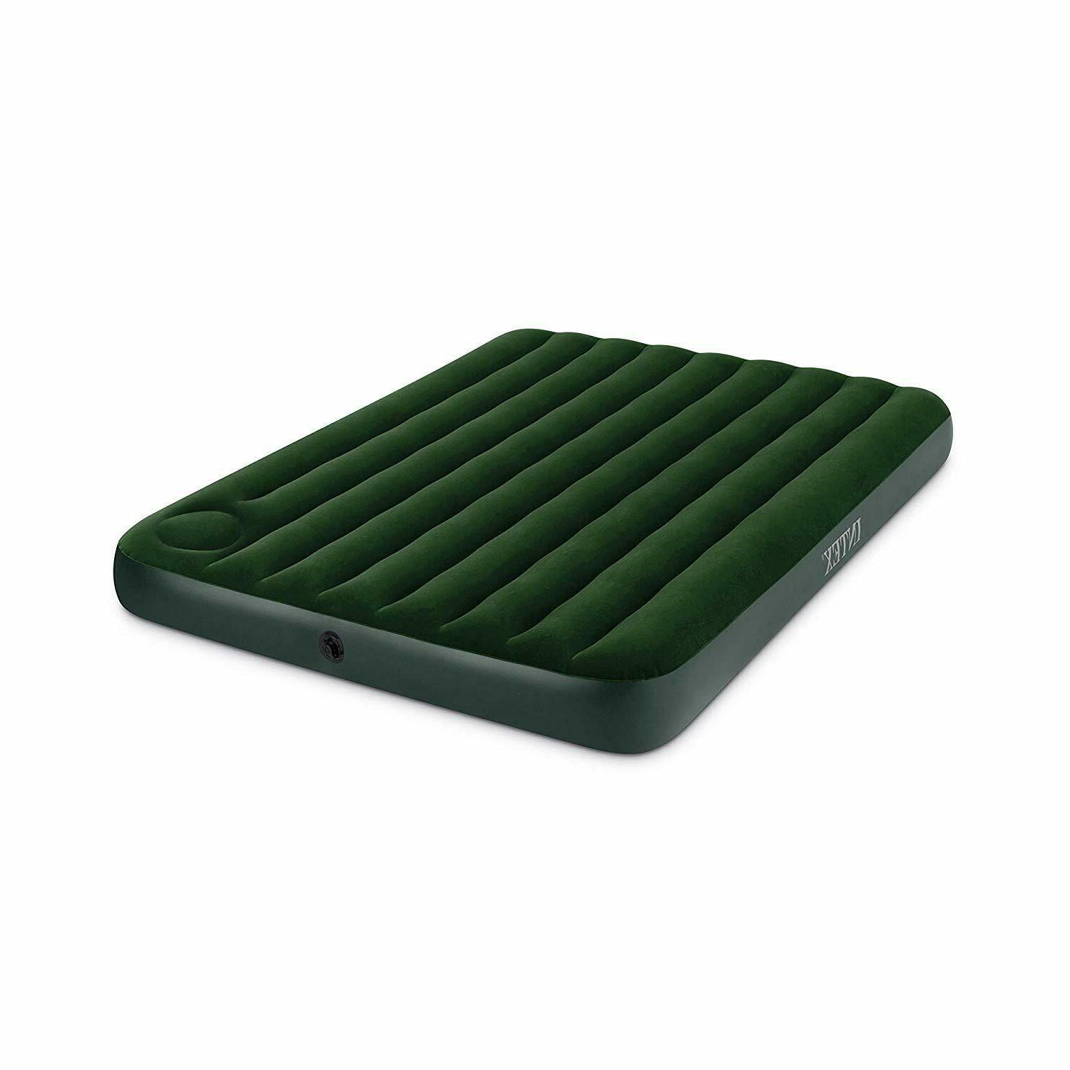 Air Bed Size Intex Inflatable Sleeping In With Pump