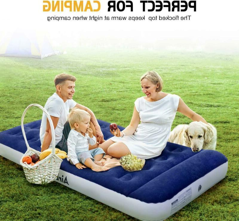 AirExpect Air Mattress Camping AirBed Leak Proof