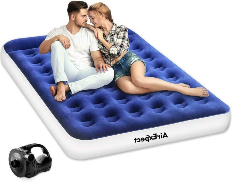 air mattress camping airbed queen twin size