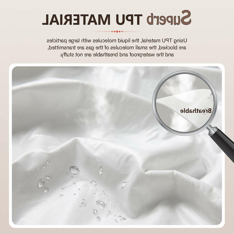 Bamboo Matress Pad Mattress Protector Air Breathable