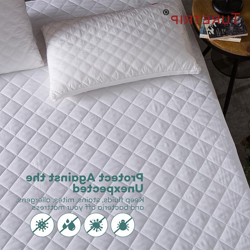 Turetrip Brushed Fabric Waterproof <font><b>Fitted</b></font> <font><b>Mattress</b></font> Waterproof