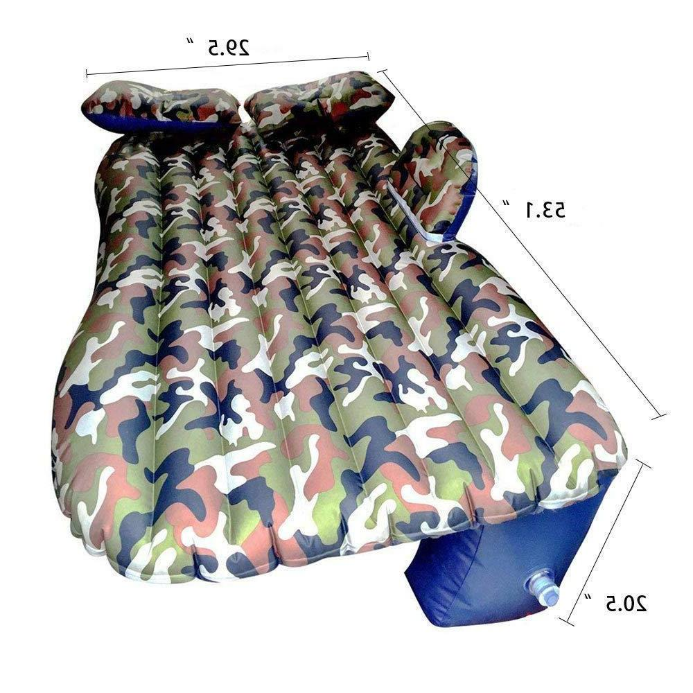 Camouflage Car Air Matress Bed for Car Inflatable Mattress Air