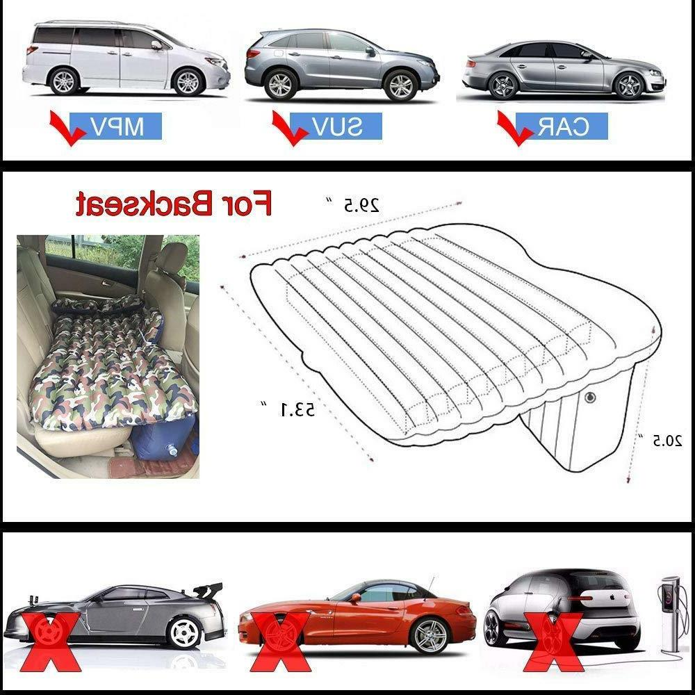 Camouflage Bed Car Inflatable