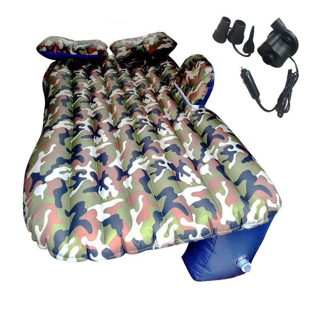 camouflage car air matress bed for car