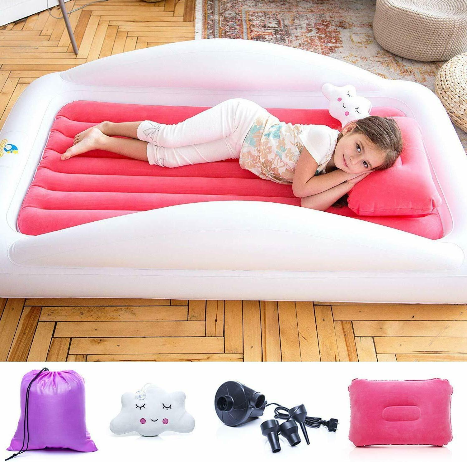 inflatable toddler travel bed portable bed air