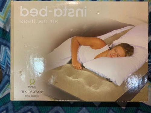 insta bed air mattress queen 78 5
