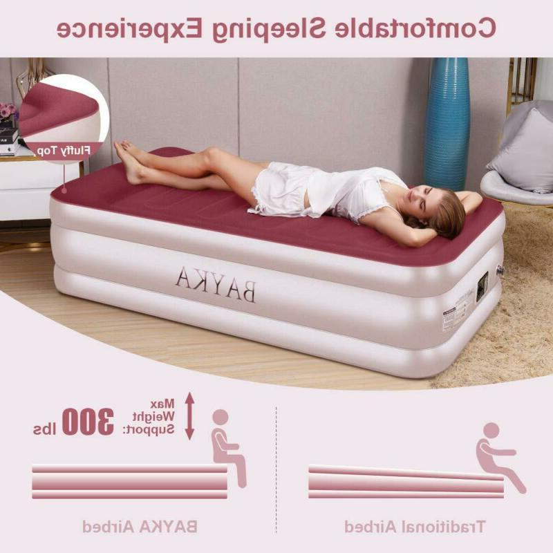 New Twin Bed Pump Pillow Double
