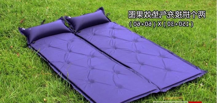 Outdoor Inflatable Camping <font><b>Matress</b></font> Pad with Self-inflating