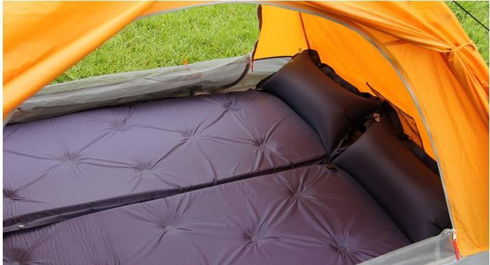 Outdoor Camping Mat <font><b>Air</b></font> <font><b>Matress</b></font> with Pillow matras Self-inflating