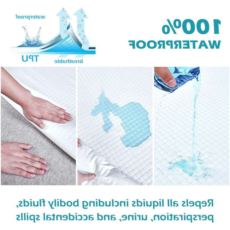 Premium Waterproof Matress Protector 3D