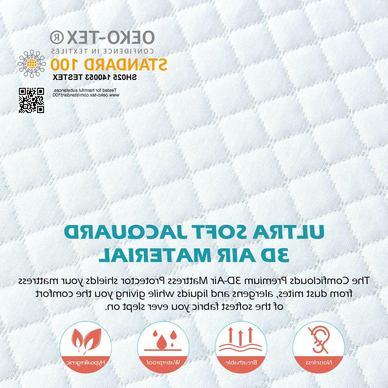 Premium Matress 3D Air Pad Cooling Noiseless Cover