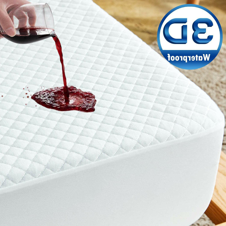 premium waterproof matress protector 3d air mattress