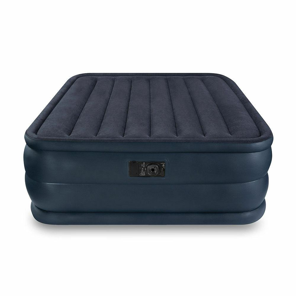 queen raised downy airbed mattress