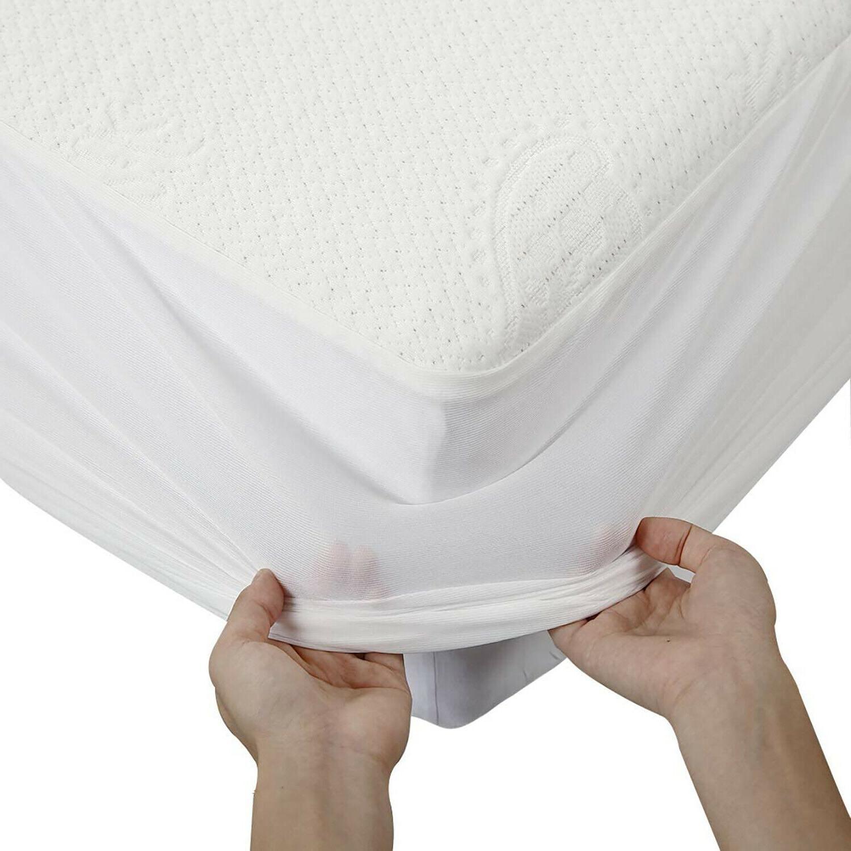 Waterproof Mattress Protector Breathable Matress Cover Deep