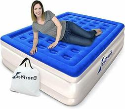 Luxury Queen Deluxe Raised Air Mattress with Built in Pump