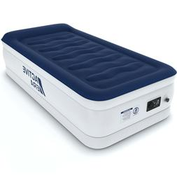 Active Era Luxury Twin Size Air Mattress with Built-in Pump