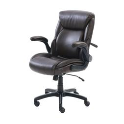 Portable Furniture Home Comfort Air Lumbar Bonded Leather Ma