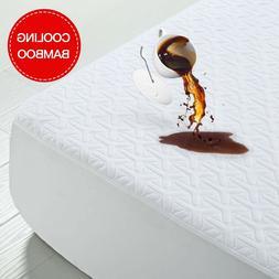 Premium Cooling Bamboo Matress Protector 3D Air Fabric Pad N