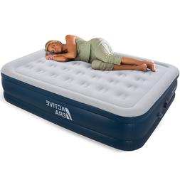 Active Era Premium Queen Size Inflatable Air Mattress with A