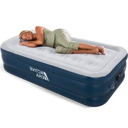 Active Era Premium Twin Size Inflatable Air Mattress with AC