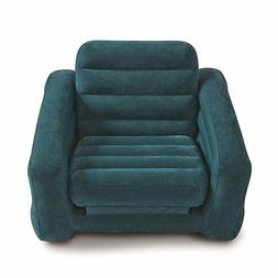 """Intex Pull-out Chair Inflatable Bed, 42"""" X 87"""" X 26"""", Twin"""
