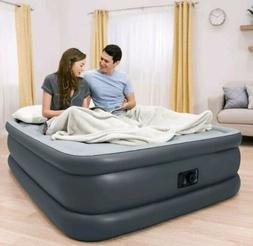 Queen Size Air Bed Mattress With Built-In Electric Pump Rais