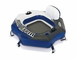 Intex River Run Connect Lounge Inflatable Floating Water Tub