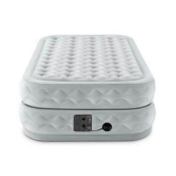 Intex Supreme Air Flow Raised Air Bed Mattress with Built in
