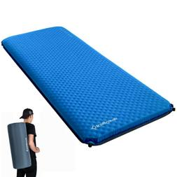 "4"" Think Widen Self-Inflating Camping Pads Air Mat Sleeping"